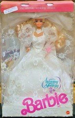 1989 Wedding Fantasy Barbie Doll #2125 (The Barbie Room) Tags: 1989 wedding fantasy barbie doll 2125 1980s 80s bridal bride gown dress
