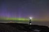 'Saturday Night Lights' - Penmon, Anglesey (Kristofer Williams) Tags: lighthouse aurora northernlights night sky stars phenomenon nightscape penmon anglesey wales astro astrophotography auroraborealis