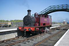 No.9 'Richboro' (CameronTelfer) Tags: no60 no9 richboro alnwick alnmouth northumberland branch end 50th gala sunday 6th may 2018 aln valley railway