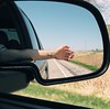 Traveling (backbeatb00gie) Tags: vsco iphone reflection traveling work free wind air waving sunshine moving hand interstate iow road