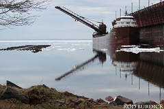 keb5618dkscnrefl_rb (rburdick27) Tags: kayeebarker interlakesteamshipcompany ice lakesuperior scenicmichigan marquette reflection reflections