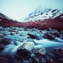 Allt a'Mhuilinn (Mark Rowell) Tags: alltamhuillinn scotland ir eir aerochrome infrared 6x6 120 expired mediumformat film bennevis highlands