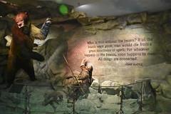 Wonders of Wildlfie National Museum and Aquarium (Adventurer Dustin Holmes) Tags: 2018 wondersofwildlife museum chiefseattle cavebear bear prehistoric statue beasts quote saying animals caveman prehistoricman exhibit display springfieldmissouri springfieldmo tourism touristattraction touristattractions