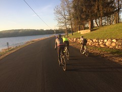 A crisp, clear spring morning made for a beautiful ride. #iamawakenow  #ridetogether #wg