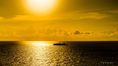 心中有一个孤岛 (幻影留梦) Tags: recreation fun ocean sea vacation serenity costa maya cozumel mexico caribbean blue sky cloud water sun