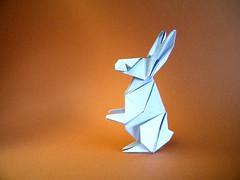 Rabbit - Zhao Yanjie (Rui.Roda) Tags: origami papiroflexia papierfalten lapin coelho conejo rabbit zhao yanjie