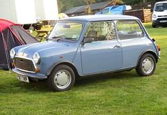 1988 Mini City #1 (occama) Tags: f917trp 1988 mini city old car blue riviera run 2018 cornwall uk rover bl bmc leyland austin morris