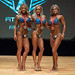 Bikini B – 2nd Jade Dubois 1st Jessie Pineault 3rd Nathalie Cousineau