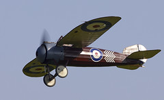 Bristol M1C (Bernie Condon) Tags: bristol m1c scout monoplane fighter ww1 greatwar rfc royalflyingcorps raf royalairforce uk british shuttleworth collection oldwarden airfield airshow display aviation aircraft plane flying 100yearsoftheroyalairforceairshow