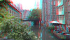 Ghent 3D (wim hoppenbrouwers) Tags: ghent 3d anaglyph stereo redcyan canal gand gent