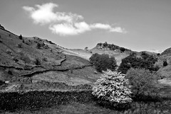 This old Road (plot19) Tags: love light landscape lakedistrict lake grass grasmere nikon north northern northwest britain british blackwhite england english uk plot19 photography