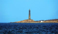 Twin Lighthouses on Thatcher Island (Icanpaint1) Tags: twinlighthouses thatcherisland coast ocean lighthouse northshore massachusetts wjtphotos