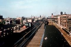 CTA Stockyards 2101 Jeffrey Wein dupe (jsmatlak) Tags: chicago cta l elevated train electric railway subway metro stockyards