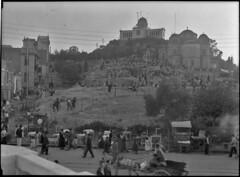Ο Λόφος των  Νυμφών, με το Αστεροσκοπείο και τον Ναό της Αγίας Μαρίνης το 1934. (Giannis Giannakitsas) Tags: greece grece griechenland athens athenes athen αθηνα 1934 αστεροσκοπειο