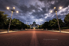 bangunan perdana putra (Dingo photography) Tags: landscape malaysia putrajaya perdana morning symmetry leading lines nikon d750 fx tamron tamron1530mm dramatic flickr12days