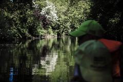 Kanufahrt auf der Werse (groenteboer x) Tags: werse kanu münster kanufahren angelmodde münstersüdwest wolbeck kanutour wunderschön ruhe frühling flus river canoe peaceful canoeing muenster westfalen urban wildlife nature mitteninmünster