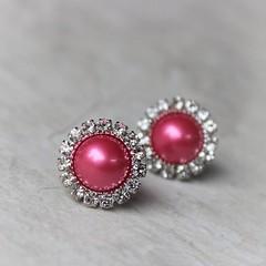 Hot Pink Pearl Earrings, Bridesmaid Jewelry, Hot Pink Jewelry, Bridesmaid Earrings Gift, Hot Pink Earrings, Wedding Jewelry, Fuchsia https://t.co/DZNmbhF7SN #jewelry #earrings #bridesmaid #weddings #gifts https://t.co/b67LKGYNt7 (petalperceptions.etsy.com) Tags: etsy gift shop fashion jewelry cute