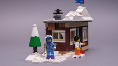 31080 short video (KEEP_ON_BRICKING) Tags: lego city custom moc creator house 31080 set mod legomoc keeponbricking 2018 new style video vid short movie clip snow home vacation winter