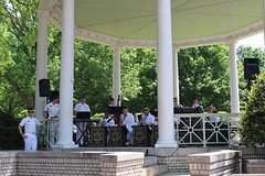 Bandstand (Piedmont Fossil) Tags: usna us united states naval academy annapolis maryland herndon monument climb plebe band music