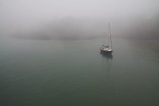 The Fog and the Boat