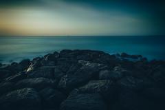 Enigma ( MBS-.. ) Tags: nikon sea seascape landscape ocean sky sunset rock water beach enigma