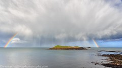 Ballycotton April 2018_1 (paulflynn) Tags: ballycotton lighthouse squall shower light rainbow
