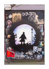 Street Art (Otto Schade), East London, England. (Joseph O'Malley64) Tags: ottoschade osch streetartist streetart urbanart publicart freeart graffiti eastlondon eastend london england uk britain british greatbritain art artist artistry artwork mural muralist wallmural wall walls pasteups wheatpaste paper prints tags