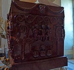 Sarcophagus of Constantia (thebyzantinelegacy) Tags: sarcophagusofconstantia constantia sarcophagus rome vatican porphyry constantine santacostanza lateantiquity