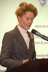 DSC_6745 (photographer695) Tags: the federation international womans associations london fiwal voices heard empowerment equality from around world kate willoughby actor writer proud yorkshire woman temporary suffragette aka emily wilding davison was who fought for votes women