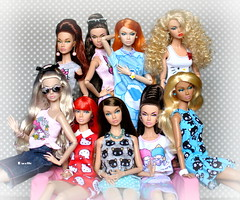 Poppy Parker in Barbie fashion (daniela.markovna) Tags: poppy parker doll fashion royalty barbie