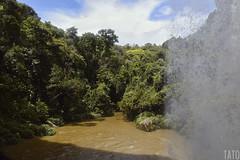 Cascada la Llanera (Tato Avila) Tags: colombia colores cálido cielos agua cascada waterfalls naturaleza nikon nubes arboles río colombiamundomágico
