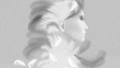 Pigeon (tralala.loordes) Tags: bird feathers pigeon commonbird streetrat face avatar secondlife virtualreality pixels mesh fantasy anthromorph streptopelia dove gray whitefeather soft columbidae animalia domesticpigeon messengers portrait butterface smeagle artistic