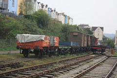 Rolling Stock (lazy south's travels) Tags: bristol avon england english britain british uk railway rail train carriage goods wagon track line urban industrial freight preserved preservation car