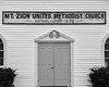 Mt. Zion (sniggie) Tags: harrodsburg kentucky mercercounty methodistchurch mtzion established1839 oldchurch sign churchfront