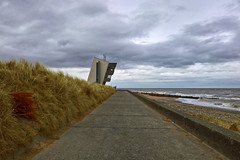 Rossall Point Observation Tower (ThatFridayFeeling) Tags: microsoftlumia950 cameraphone smartphone landscape fleetwood lancashire fyldecoast sea clouds