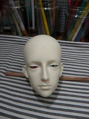 SH1 (Kattunge) Tags: spiritdoll celtis head bjd doll