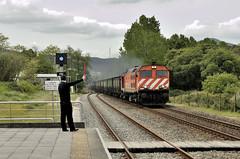 VIA LLIURE (Andreu Anguera) Tags: ferrocarril tren portugues mercancias vagonsealos locomotorabombardier vilanovadecerveira andreuanguera