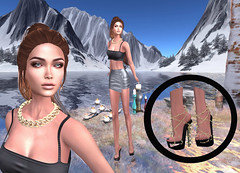 LuceMia - The Darkness Monthly Event (MISS V♛ ITALY 2015 ♛ 4th runner up MVW 2015) Tags: thedarknessmonthlyevent secondlife sl new creations mesh event giuliadesign fashion casual krizia letituier hair andrea eyes slackgirl deluxe catwa lelutka appliers nacklace bigboss jewelry rose gold silver diamond chokers shoes sohoeshoes piper barded pumps blog models lucemia