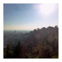 Bergamo (ngbrx) Tags: lombardy italy bergamo italia italien lombardia lombardei sun sonne sky himmel winter