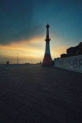 free willy (christian mu) Tags: architecture sunset germany bremerhaven water weser river urban lighthouse leuchtturm christianmu 15mm 1545 voigtländer1545 voigtländer sony sonya7riii sonya7rm3 spring