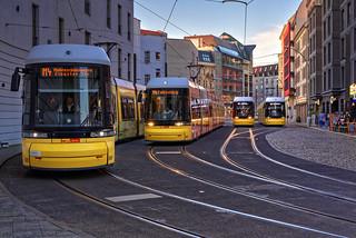`Pausenhof' der Straßenbahnen - HDR - Balanced