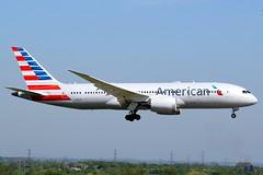 2018-05-05 LHR N804AN (Paul-H100) Tags: 20180505 lhr n804an boeing 787 b787 dreamliner american airlines