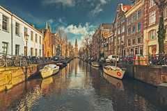 Amsterdam Canals (2) (Hadi Al-Sinan Photography) Tags: amsterdam netherlands holland travel canal canals boat cruise tour hadi alsinan photography canon