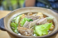 Fuji color X100 (Xiaole wy & JV William) Tags: fujifilm x100 23mm f20 limited black edition color close up photography traditional asian food bak kut teh south east asia clay pot pork herbal tea smooth silky bokeh rib