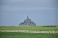 The mount (saint-michel), across the lands (Christophe Rose) Tags: abbey abbaye sky lands terre ciel montsaintmichel mont saint michel normandy normandie manche france 50 nikon nikonpassion christopherosé d5600
