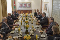 Secretary Pompeo Attends a Aorking Breakfast hosted by Jordanian Foreign Minister Safadi (U.S. Department of State) Tags: mikepompeo jordan amman