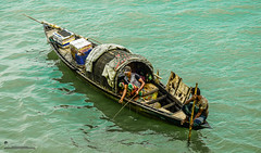 The Fisherman & The Boatman (Sagor's) Tags: photography photo person people padma thepadma river reflection rivers water waterreflection bd bangladesh black beautiful life nikon nature naturalphotography nikond5300 nikon5300 naturalphoto naturephoto nikkor new
