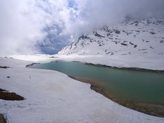 cold lake (koaxial) Tags: p4298867p1ma koaxial snow cold ice lake water green sky clouds wolken mountains berge glacier gletscher bernina switzerland schweiz berninaexpress