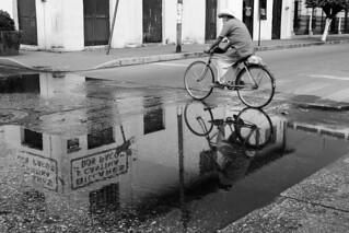 Bicicleta del charco