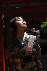 Nao (runslikethewind83) Tags: japan kimono lady woman culture asian dress japanese 着物 日本 女 文化 portrait